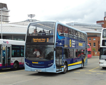 608 - SN61CZY - Norwich (bus station) - 30.7.12