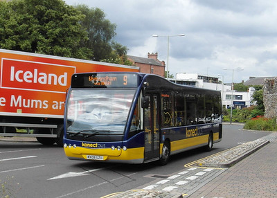 301 - MX08UZU - Norwich (Queen St) - 30.7.12