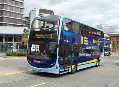 607 - SN61CZX - Norwich (bus station) - 30.7.12