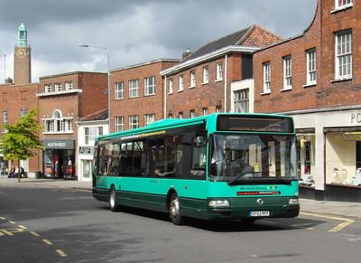 122 - OY53RFF - Norwich (Castle Meadow) - 30.7.12