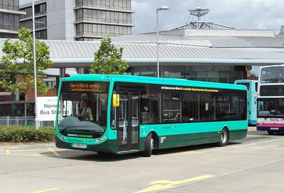 109  - YK56ATU - Norwich (bus station) - 30.7.12