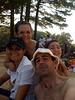 Con Kesia, Ivan y Anamari pasando el dia en un lago, escapando del calor veraniego de Boston.