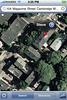 104 Magazine Street visto por el satélite.