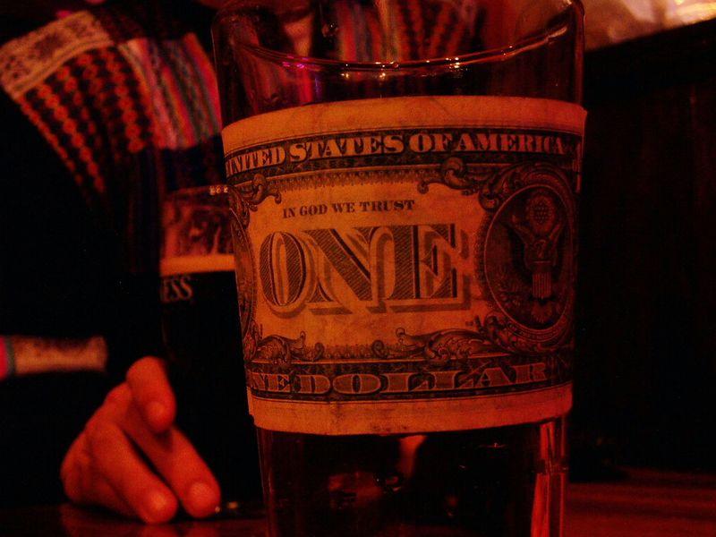 One dolla' drink