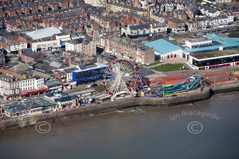 Aerial photo of Bridlington.