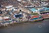 Aerial photo of Bridlington.