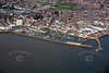 Bridlington Harbour from the air.