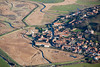 Cley Next the Sea from the air.