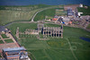 Aerial photo of Whitby Abbey.