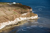 Aerial photo of Flamborough Head.
