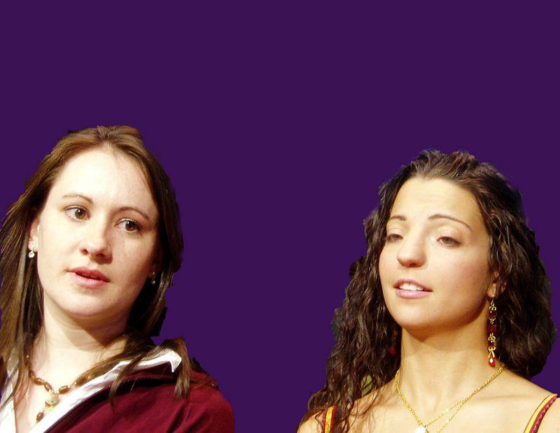 Spring 2005<BR>Amylyn and Stephanie