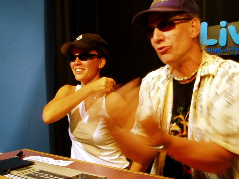 July 2005<BR>Hungarian show with Aniko