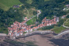 Robin Hood's Bay from the air.
