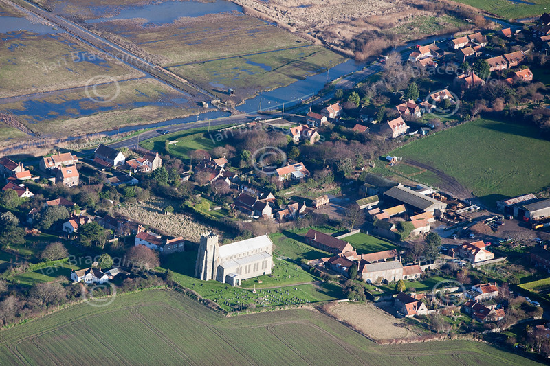 Salthouse from the air.