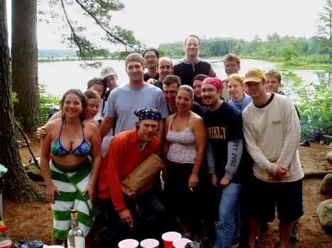 Solstice 2003.<BR>Solstice survivors