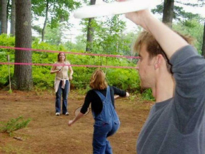 Solstice 2003.<BR>Frisbee