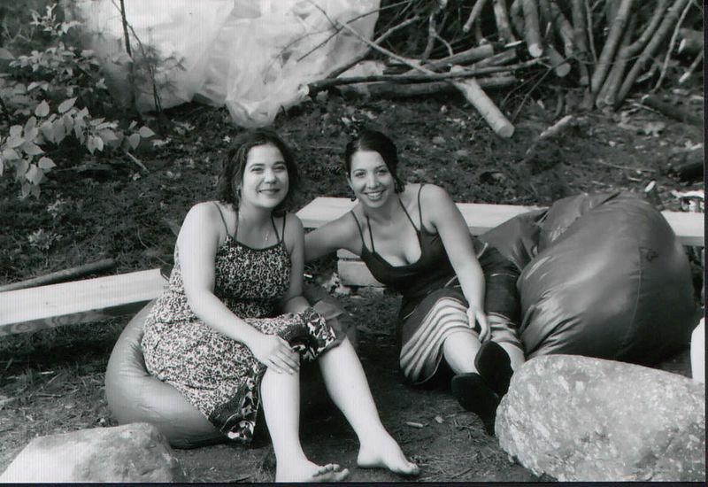 Solstice 2003.<BR>Gretchen and Meg
