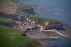 Staithes from the air.