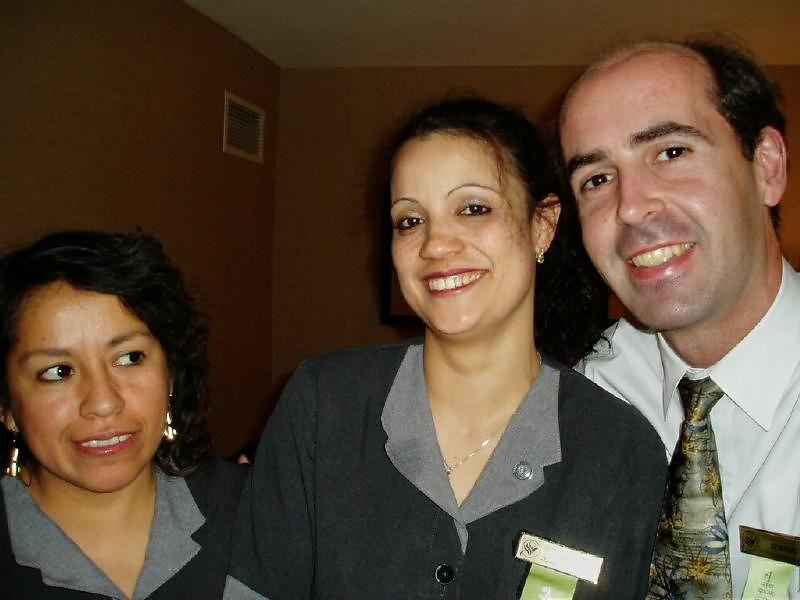 With Doris and Ana