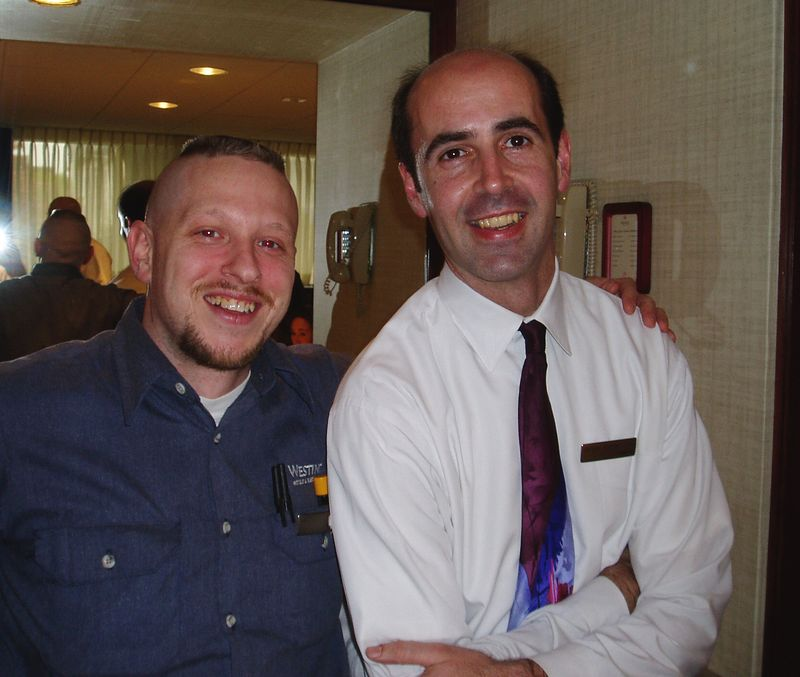 May 2005<BR>Sergio's last few days at The Westin<BR>Kevin