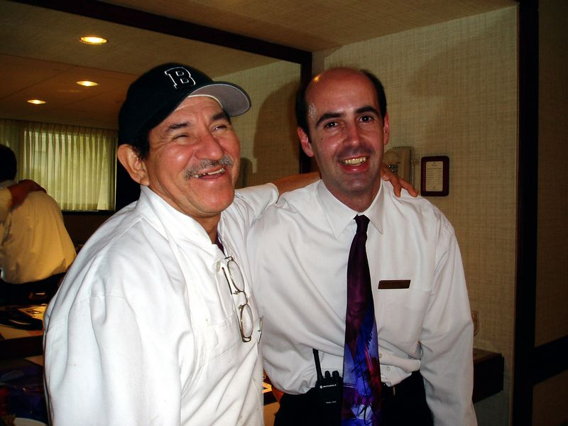May 2005<BR>Sergio's last few days at The Westin<BR>Jorge