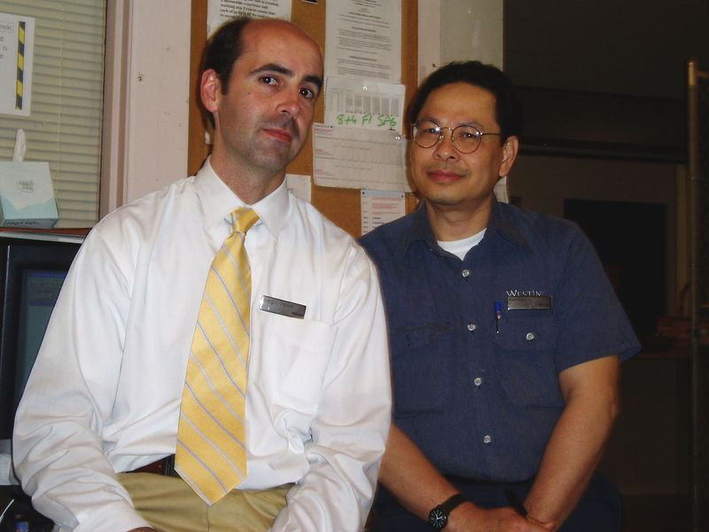 May 2005<BR>Sergio's last few days at The Westin<BR>Kamsan