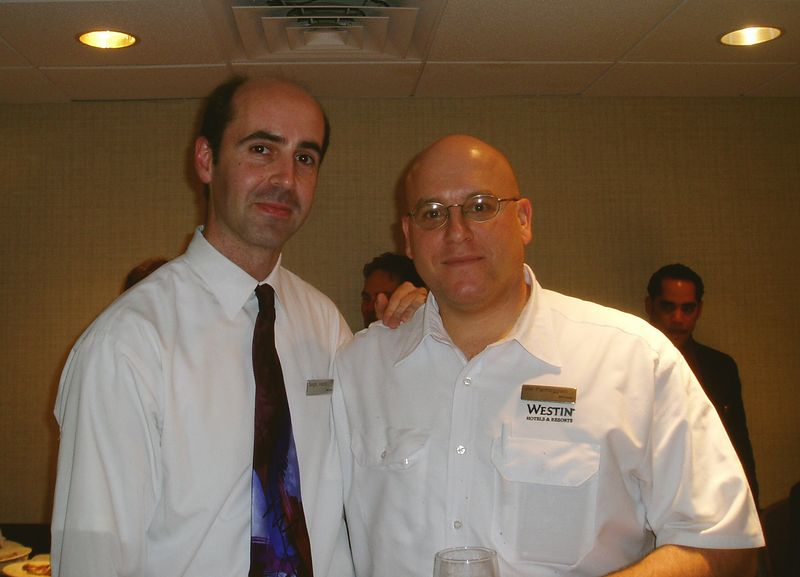 May 2005<BR>Sergio's last few days at The Westin<BR>Joe