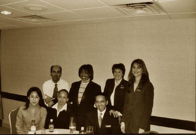 Mr. Rajneel's goodbye party. <BR>February 2003.
