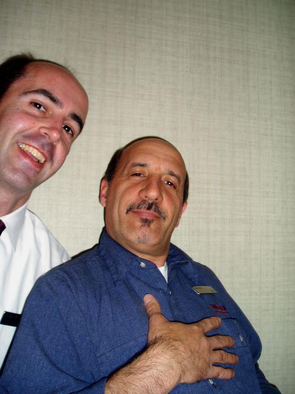 May 2005<BR>Sergio's last few days at The Westin<BR>Mr. Gaetano