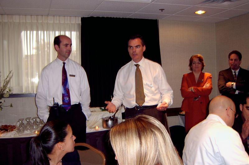 May 2005<BR>Sergio's last few days at The Westin<BR>Phil's speech
