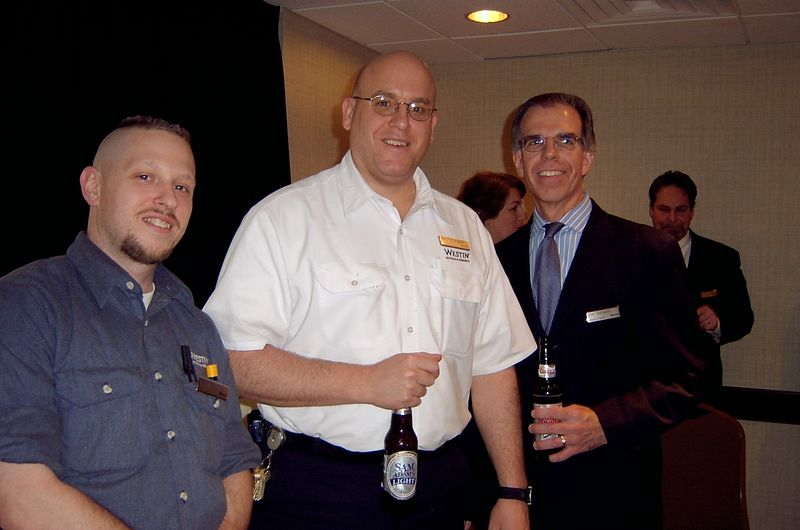 May 2005<BR>Sergio's last few days at The Westin<BR>Kevin, Joe and Ron