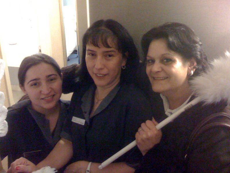 Con Maria Cruz...Maricruz para los amigos