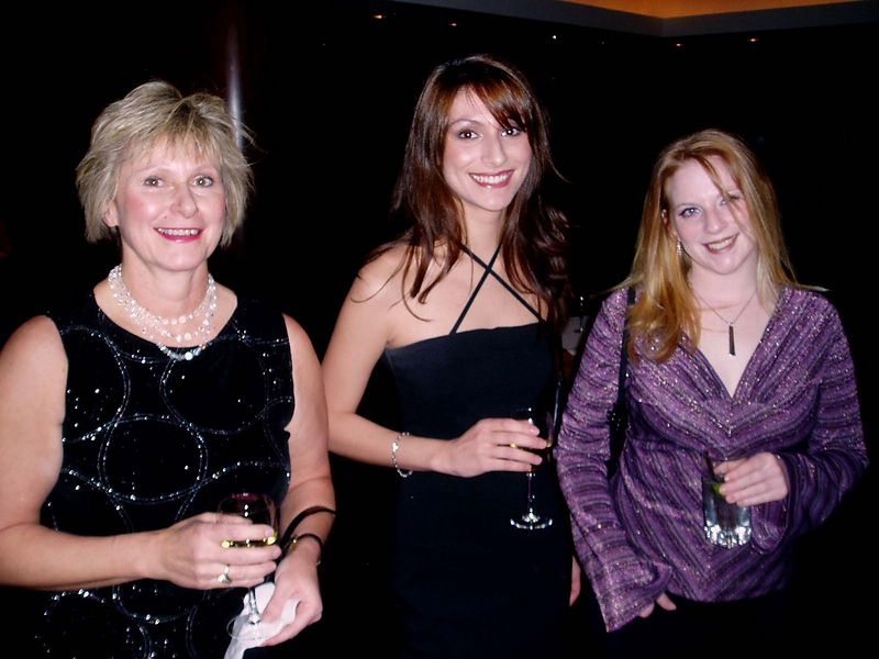 Christmas party at The Westin.<BR> December 22, 2003<BR>Jolen and Michelle