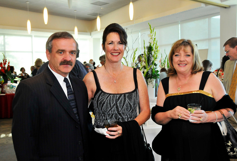 Ed O'Neal, Jeanmarie Luker and Valerie Harrison Cuyamaca College Foundation Shine On Fundraiser