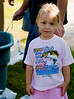 3 year old Holly's shirt says it all at the Lakeside Optimist Kids Fishing Derby at Lindo Lake in Lakeside.