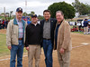 East County Chamber of Commerce Chairman of the Board Roger Roberts,  City Manager of Lemon Grove Graham Mitchell, Assemblyman Marty Block, Distric Director and President of the Community College Board of Trustees Rich Grosch East County San Diego