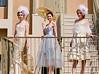 Ashtynn Afenir, Linnea Zeiner and Kellie Watson model Qadir Hamidi fashions.