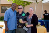 Herb Cawthorne, Drum Macomber and Jane Moore enjoy the refreshments at St. Madeleine Sophie's Center Morning Glory Jazz Brunch.