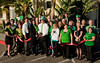 Marriott Residence Inn Downtown and East County Chamber of Commerce at the St. Patrick's Day Ribbon Cutting.