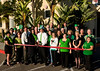 Marriott Residence Inn Downtown and East County Chamber of Commerce Ambassadors celebrate their St. Patrick's Day ribbon cutting