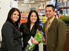 Rochelle Adame, Diana Galindo, and Gustavo Molina at Sam's Club 10 year anniversary celebration. East County San Diego