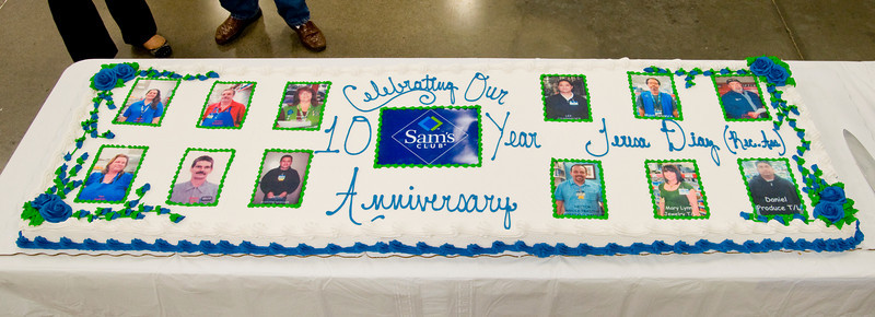 Sam's Club at College Grove in East County San Diego celebrates 10th anniversary. East County San Diego