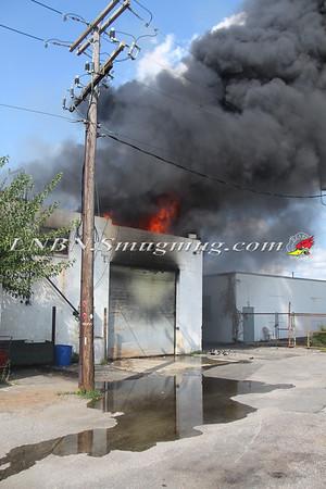 East Farmingdale Fire Co. Working General Alarm 71 Allen Blvd. 8-27-15