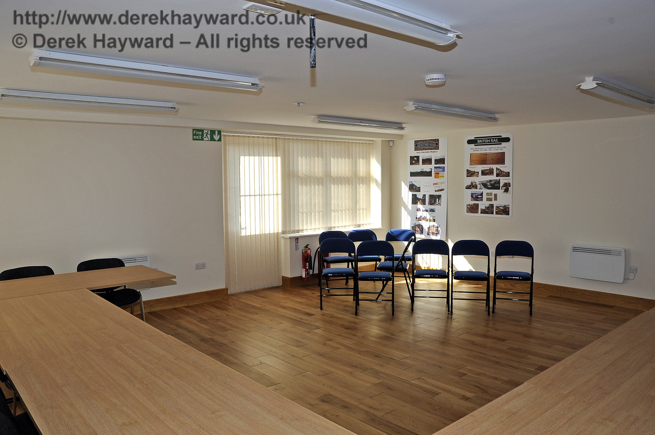 In 2011/2012 extensive development took place in Hartfield Station Goods Yard.  The interior of the new Parish Council offices taken with the kind permission of the Parish Council.  23.03.2012  3934