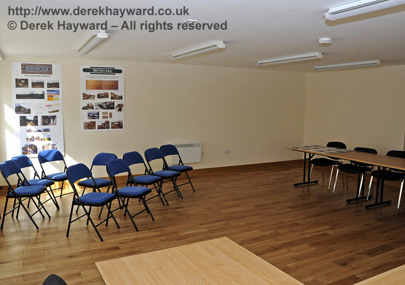 In 2011/2012 extensive development took place in Hartfield Station Goods Yard.  The interior of the new Parish Council offices taken with the kind permission of the Parish Council.  23.03.2012  3930