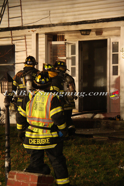 East Islip Working Fire  43 Lagoon Place 12-27-11-8