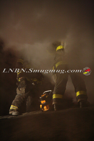 East Islip Working Fire  43 Lagoon Place 12-27-11-19