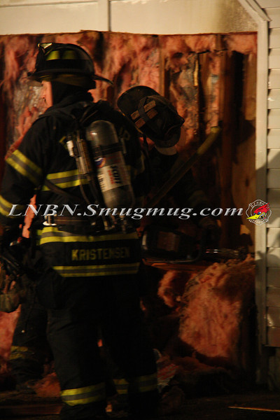 East Islip Working Fire  43 Lagoon Place 12-27-11-18