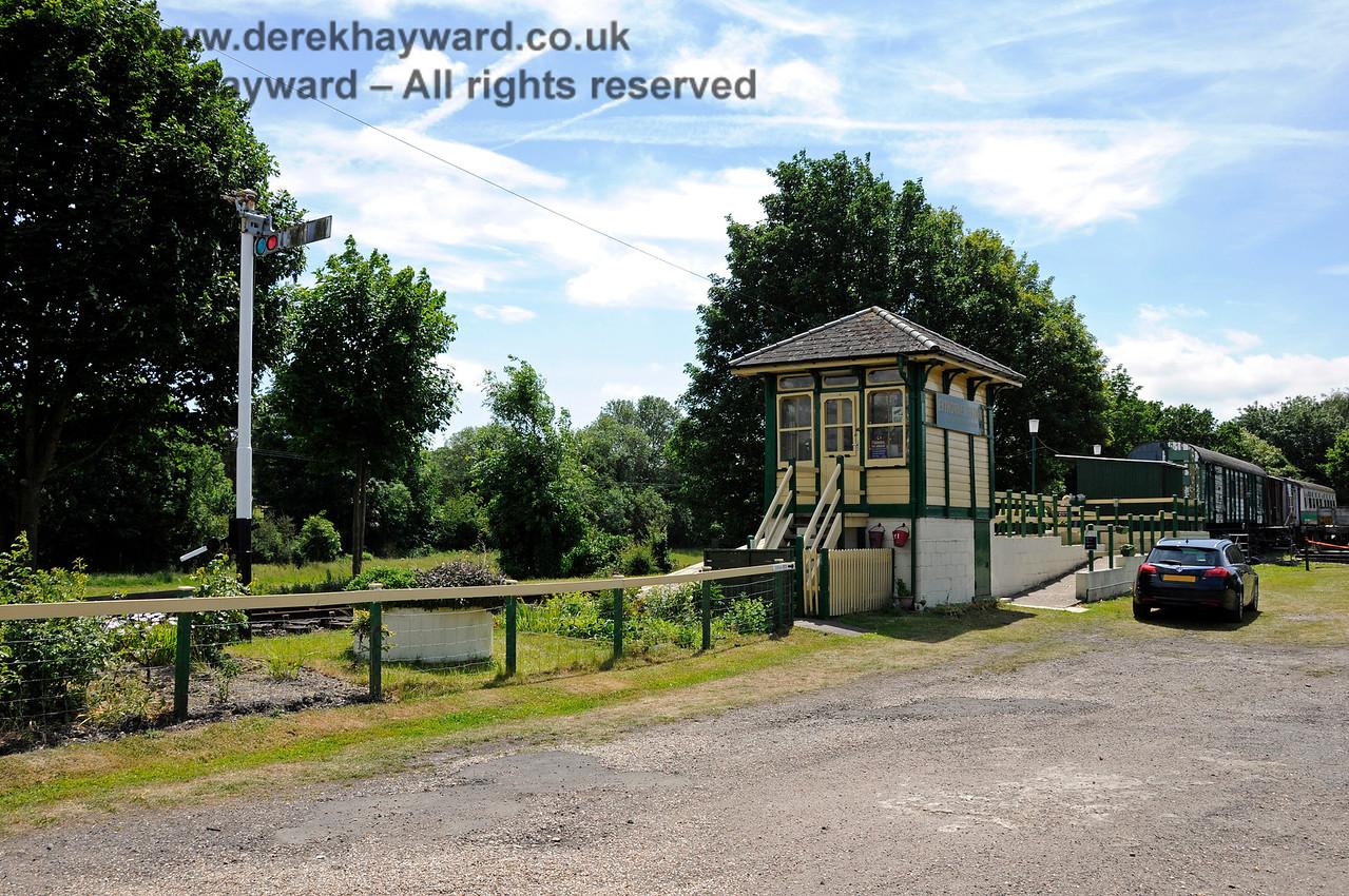 Eythorne Station, East Kent Railway. 17.06.2015  12779