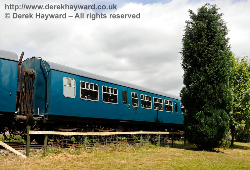 DMU coach 101660. Shepherdswell Station, East Kent Railway. 17.06.2015  12754